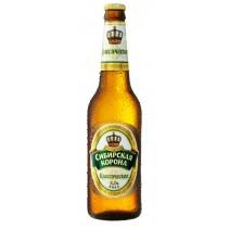 "Пиво бутылочное ""Сибирская корона"""