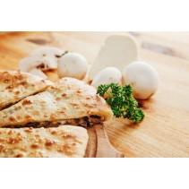 Пирог осетинский с сыром и грибами